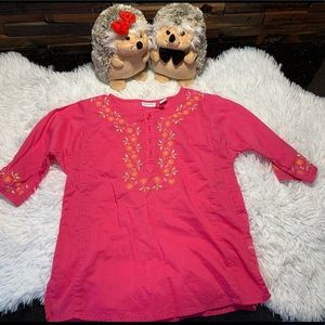 Greendog Toddler Girl Embroidered Blouse Cotton 5